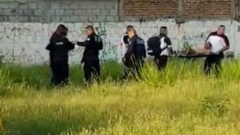 Al área llegaron policías municipales y federales, quienes resguardaron el área.
