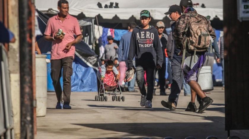 El albergue tendrá capacidad para atender a 5 mil migrantes centroamericanos.