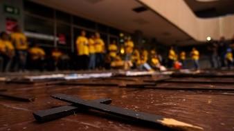 Madres de desaparecidos se manifiestan en Poder Ejecutivo