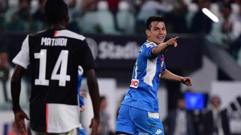 VIDEO: Con gol, Hirving Lozano revoluciona al Napoli vs Juventus(Twitter)