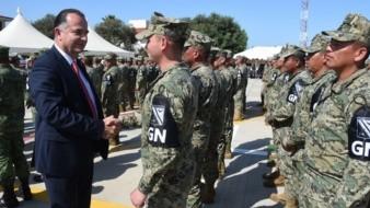 Como parte de las acciones de coordinación entre el Gobierno de Ensenada que preside el alcalde Marco Novelo y las autoridades militares de la Guardia Nacional, se han llevado a cabo mesas de trabajo en la zona sur del municipio como es San Quintín.