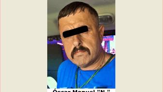 Un sujeto buscado desde el 2010 en Baja California por estar implicado en el delito de secuestro agravado, fue aprehendido por elementos de la Fiscalía General de Justicia del Estado de Sonora (FGJE).