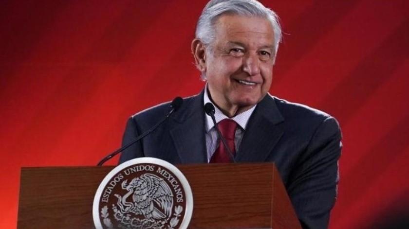 López Obrador rindió un mensaje con motivo de su Primer Informe de Gobierno.(Archivo.)