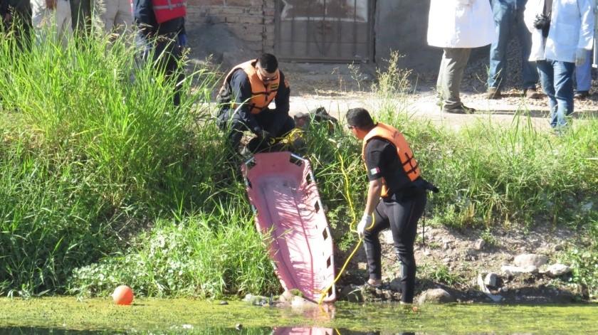 Encuentran cuerpo de hombre en canal de Pueblo Yaqui(Ilustrativa)