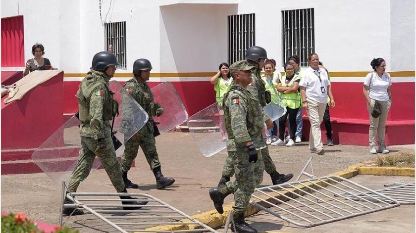 Los migrantes acusan a las autoridades de tenerlos varados en Chiapas a la espera de una resolución migratoria que les permita viajar por México, y llegar eventualmente a su frontera norte.(EFE)