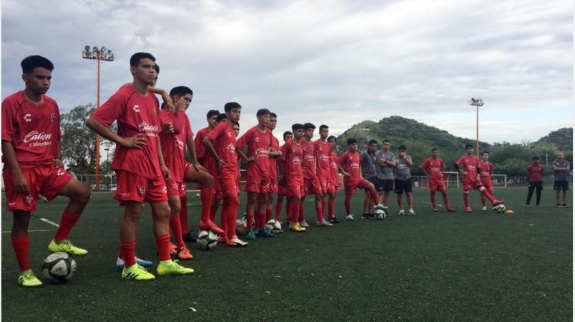 Xolos de Hermosillo debutarán en la nueva temporada el viernes 13 de septiembre contra Fut Premier de Juárez a las 19:00 horas en el Miguel Castro Servín.(Ricardo Arvizu)