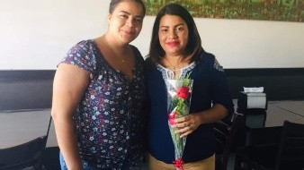 Nadia Castillo se reunió con Alondra el pasado miércoles.