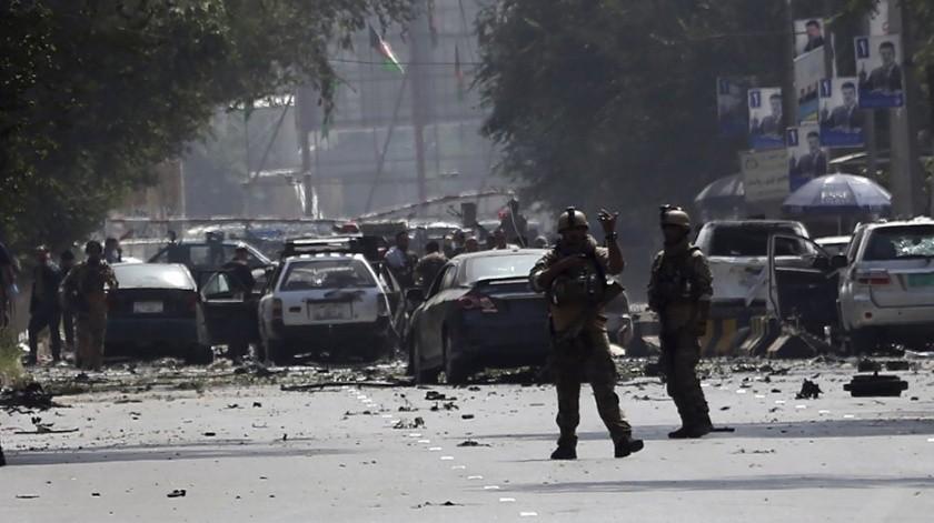 Explota coche bomba cerca a embajada de EU en Afganistán(AP)