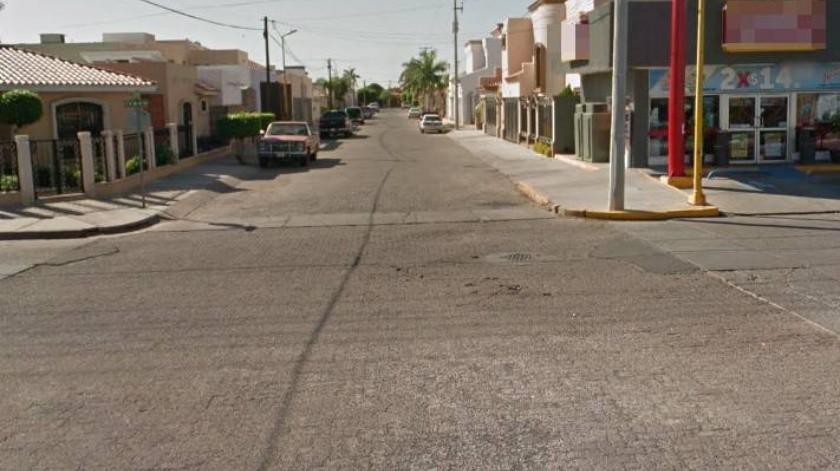 Los hechos se dieron alrededor de las 3:00 horas sobre la calle Moisés Vásquez Gudiño entre José Vasconcelos y avenida Villa Itson(Google maps)