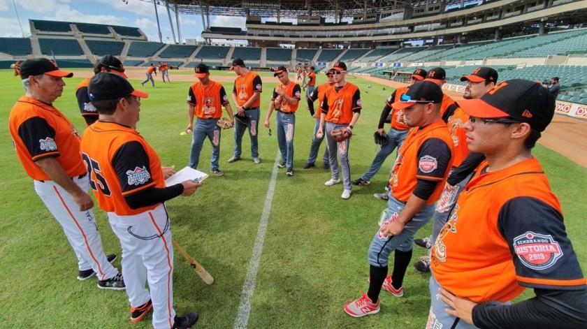 Arrancan entrenamientos para Naranjeros(Julián Ortega)