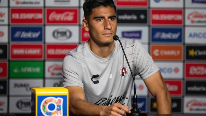 El lateral izquierdo de Xolos dijo que Tigres se va a encontrar a unos perros aztecas que van a defender el Estadio Caliente con coraje.(Cortesía)