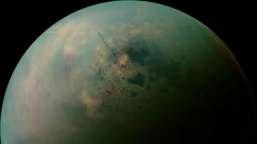 Los 'lagos' de Titán podrían ser gas en forma líquida(NASA)