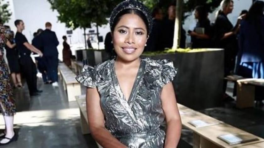 Yalitza Aparicio se rodeó de grandes personalidades de Hollywood.(Instagram/YalitzaAparicio)