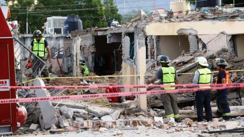VIDEO: Explosión deja al menos dos muertos en la colonia Los Jardines(Julián Ortega)