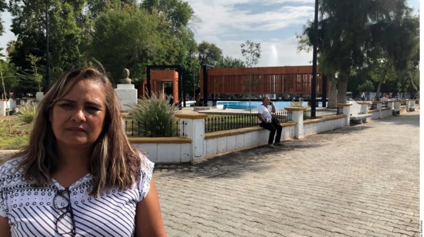 """Silvia Ortiz, madre de """"Fanny"""", mantiene su búsqueda a más de 14 años de su desaparición.(Agencia Reforma)"""