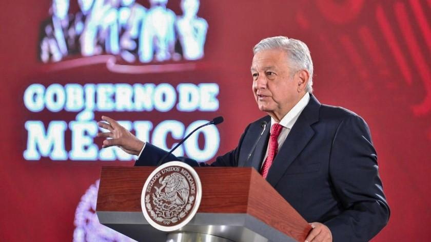 Andrés Manuel López Obrador, presidente de México.(Archivo.)