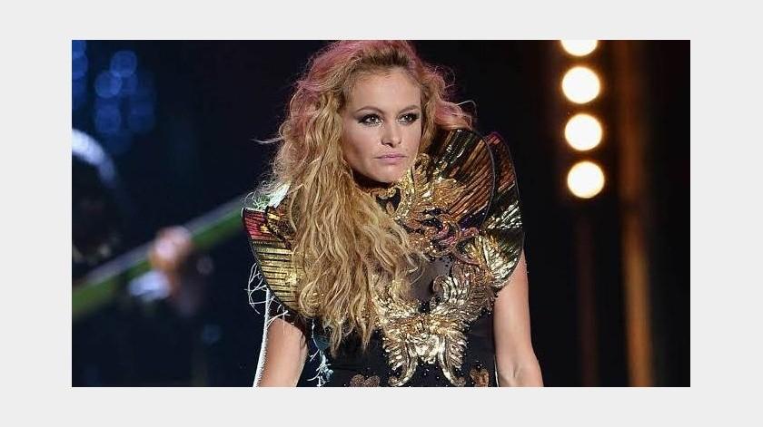 """La cantante Paulina Rubio, quien hoy arranca su gira """"Deseo Tour"""" en California, lanza el nuevo sencillo """"Si supiera"""" de su autoría, el cual forma parte de su nueva producción discográfica.(Tomada de la red)"""