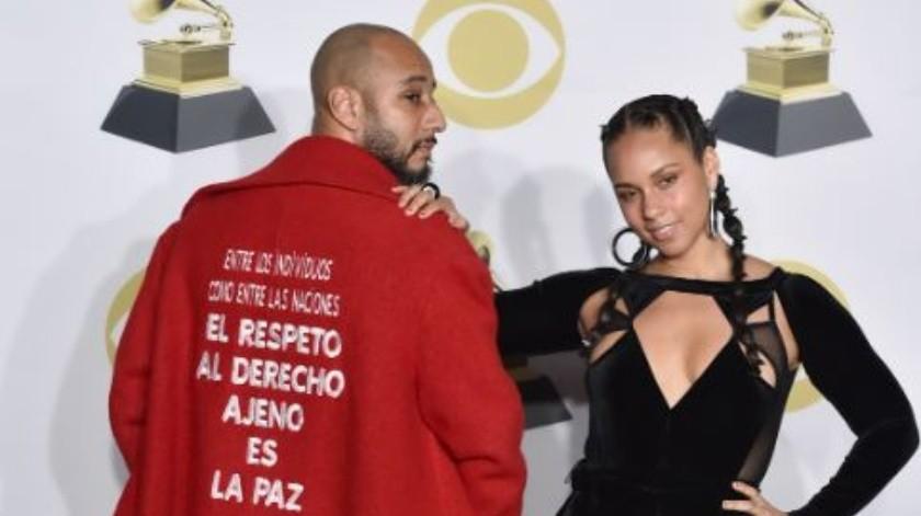 La cantante está casada con Kasseem Dean, un productor musical, DJ & rapero estadounidense conocido como Swizz Beatz.