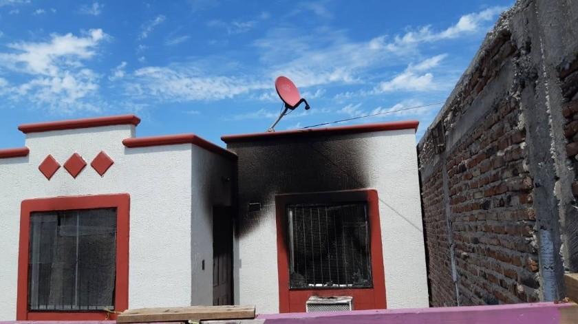 Muere hombre calcinado en incendio supuestamente provocado(Mayra Echeverría)