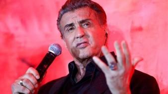 El célebre actor estadounidense Sylvester Stallone presentó este jueves en México su nueva película