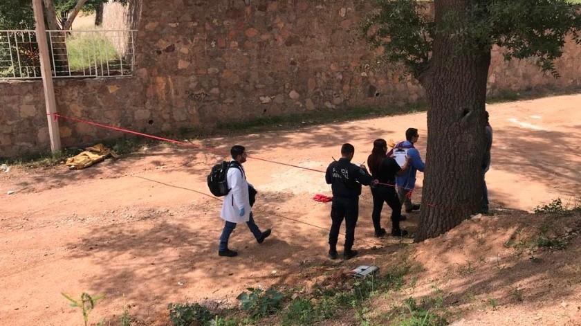 Hallan cuerpo de un hombre en Nogales(Manuel Jim�nez)