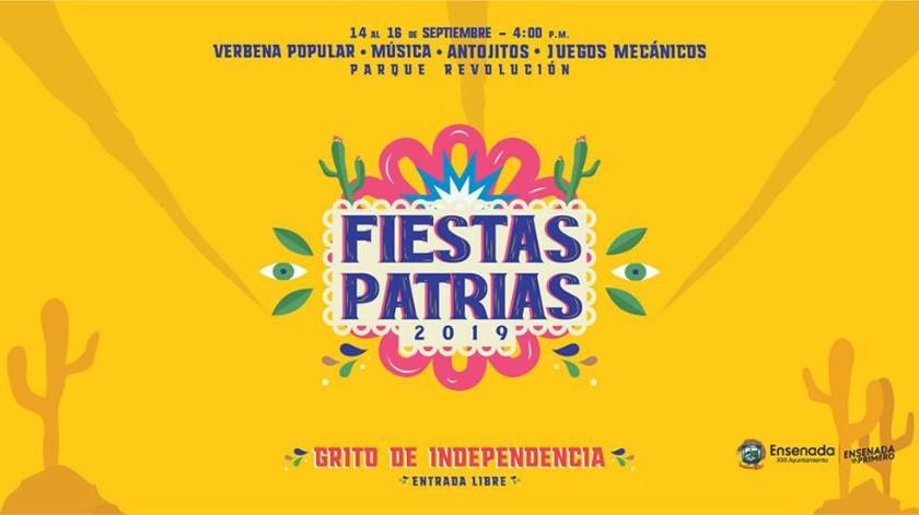 El Ayuntamiento de Ensenada reitera a la población la invitación para que acuda a los diversos eventos que se realizan para conmemorar esta fecha importante para los mexicanos.(Cortesía)