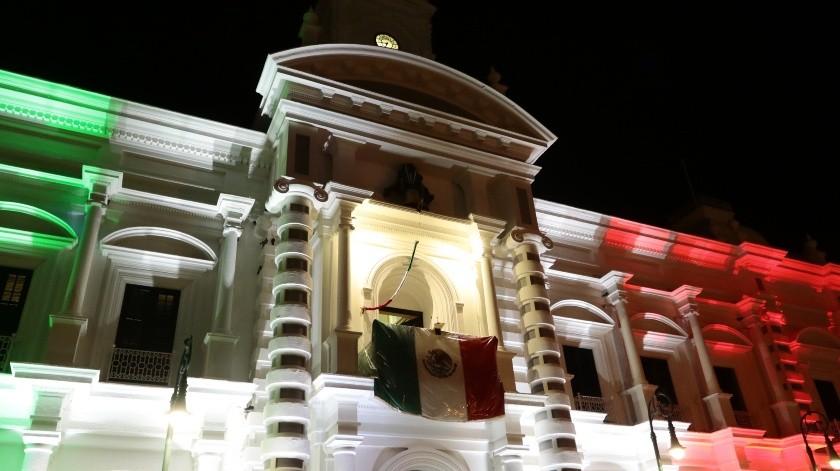 La Plaza Zaragoza se llenará de color esta noche para celebrar el Grito de Independencia.(Archivo.)