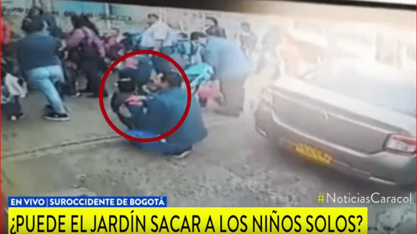En la localidad de Kennedy, en el suroccidente de Bogotá, Colombia una señora encontró a un niño de 2 años deambulando solo por la calle.(Noticias Caracol)