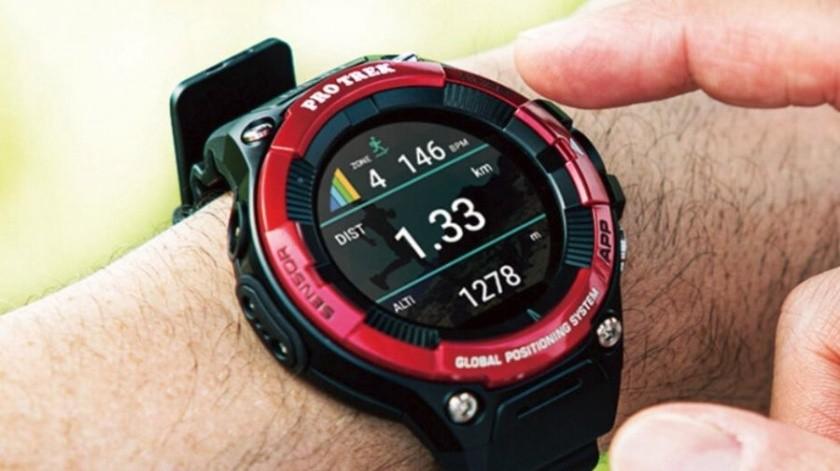 Lanza Casio el reloj Pro TREK Smart, incluye monitor de frecuencia cardiaca(Cortesía)