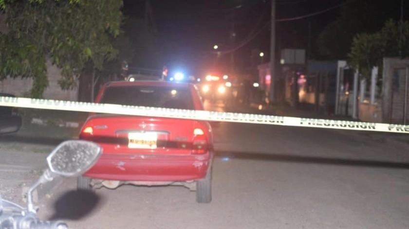 Diego Armando G.Z., de 29 años de edad, resultó la víctima número 16 de ataques armados en el municipio de Cajeme y quedó tendido por fuera de una vivienda en la colonia municipio libre.