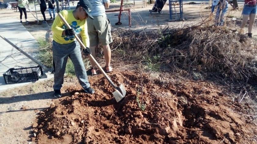 Vecinos y ambientalistas realizaron también labores de limpieza en el lugar(CORTESÍA)