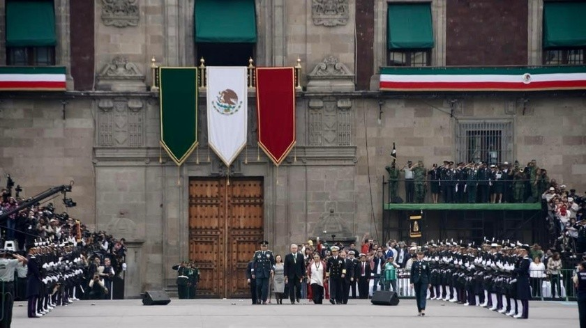 El Desfile Militar por el Aniversario de la Independencia de México en imágenes