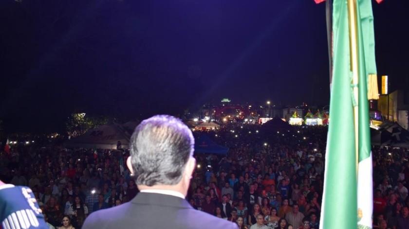 En el marco de la Semana Nacional de Protección Civil y de los festejos patrios de México, la Unidad Municipal de Protección Civil del Gobierno de Ensenada que preside Marco Novelo, se informa que participaron más de 15 mil personas en los eventos organizados por el CCIX Aniversario de la Independencia del 14 al 16 de septiembre.(Cortesía)