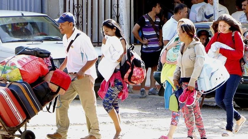 Crisis migratoria de Venezuela es analizada por Colombia y Ecuador(EFE)