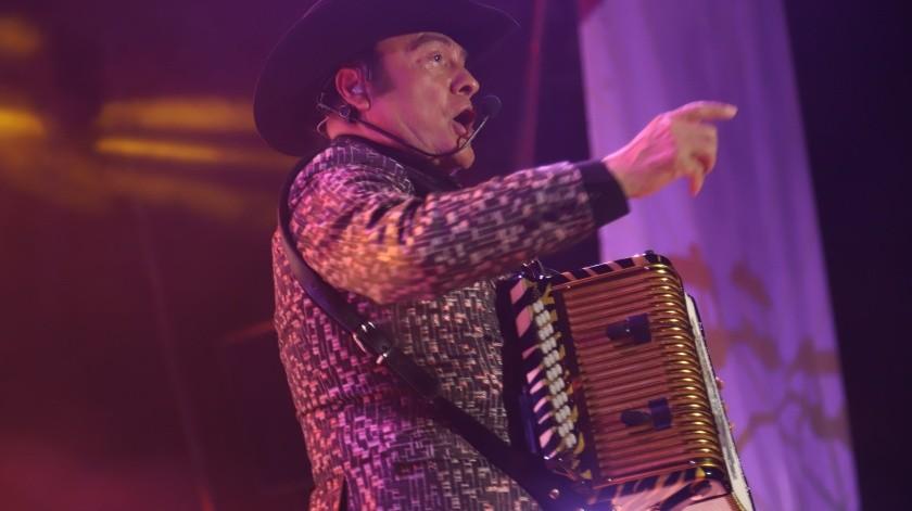 Tremendo zarpazo pegaron Los Tigres del Norte en su primera presentación dentro del Teatro del Pueblo de la Feria Tijuana, la noche de este lunes 16 de septiembre.(Sergio Ortiz)
