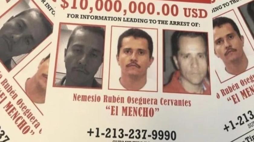 """""""El Mencho"""" es señalado como el líder del Cártel Jalisco Nueva Generación."""