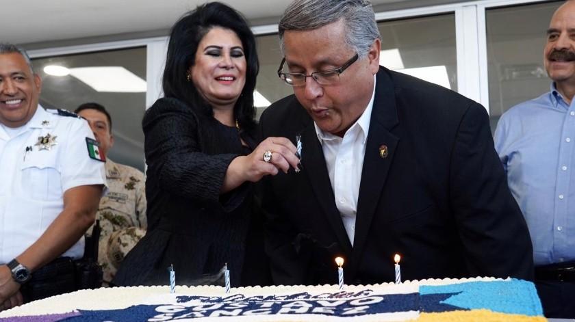 Inauguración del CIS(Víctor Medina)