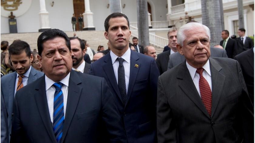 """Guaidó consideró que los """"presos políticos jamás debieron estar tras las rejas"""" y valoró que esta liberación como """"un logro de quienes no nos rendimos. ¡Libertad para Venezuela!"""".(AP)"""
