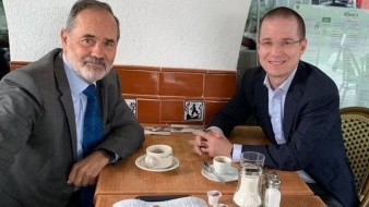 ¿Reconciliación? Ricardo Anaya se reúne con panista