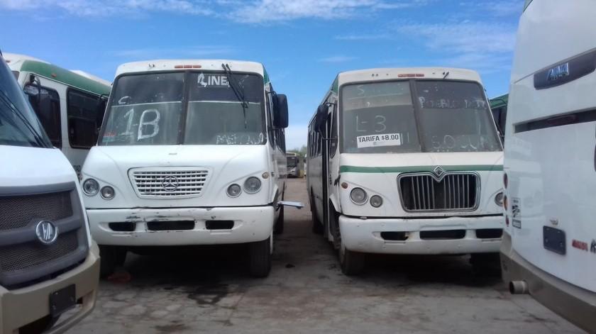 Critican el servicio de transporte(Jesús Palomares)