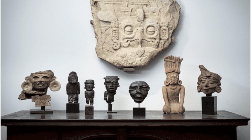 La subasta de arte precolombino que México intentó frenar en Francia, al considerar que la mayoría de sus piezas pertenecen al patrimonio cultural mexicano, alcanzó este miércoles 1,2 millones de euros.(Tomada de la red)