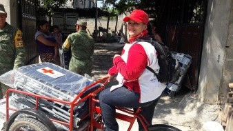 A dos años del sismo del 19S, Cecilia recuerda su experiencia como socorrista