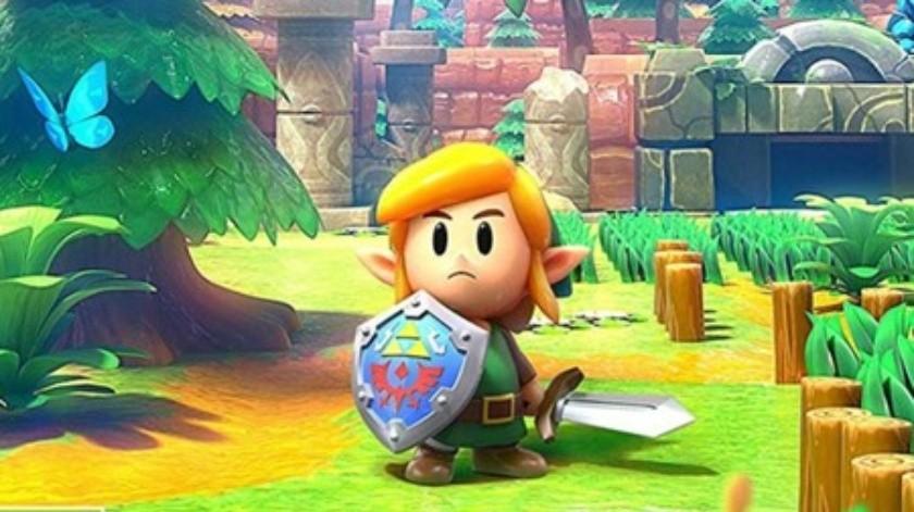Nueva versión de Zelda: Link's Awakening(Tomada de la Red)