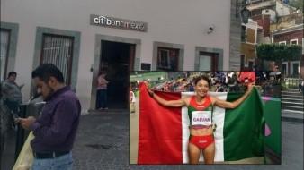 Roban a medallista mexicana; la dejan sin apoyo del gobierno