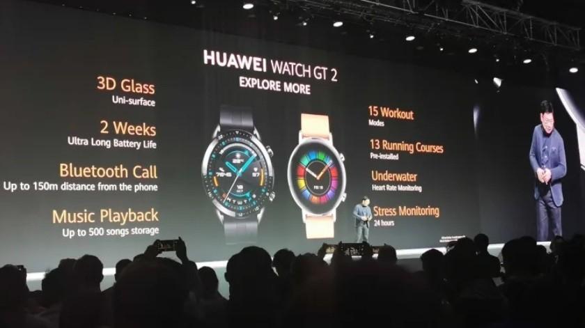 El reloj inteligente de Huawei Watch GT 2 tiene batería para dos semanas(Gizmodo)