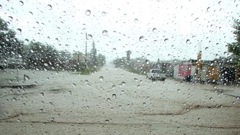 """La Conagua pronosticó fuertes lluvias para Sonora por el huracán """"Lorena"""".(Archivo.)"""