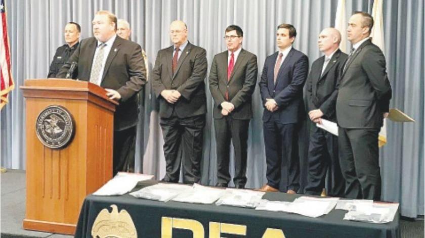 Una red de narcotráfico relacionada con el Cártel de Sinaloa fue desmantelada en San Diego, con la que se acusó a 85 personas, incluyendo a tres residentes de Tijuana.