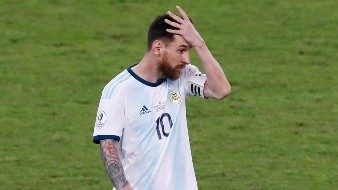 AFA busca remoción de castigo para Lionel Messi