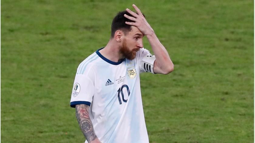 El argentino fue sancionado tres meses por Conmebol tras criticar duramente al organismo rector del futbol sudamericano.(Twitter)