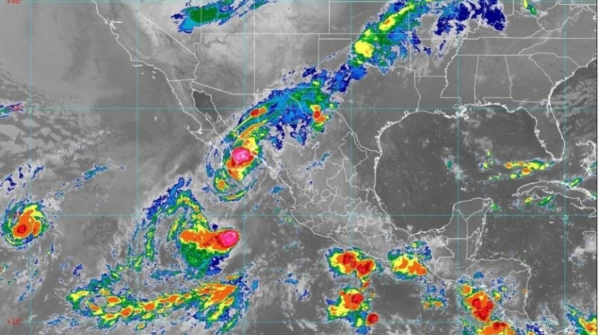 Se prevén lluvias para varios estados del País.